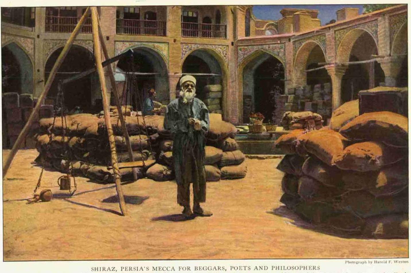 شیراز – به گفته نویسنده مقاله نشنال جئوگرافیک ممرکز تجمع گداها، شاعران و فیلسوفها