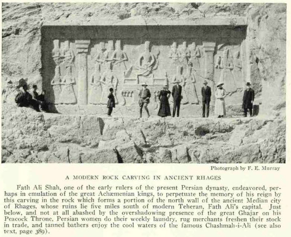 سنگتراشیهای جدید به سبک ایران باستان