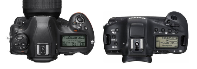 مقایسه  Nikon D6 و Canon 1DX iii