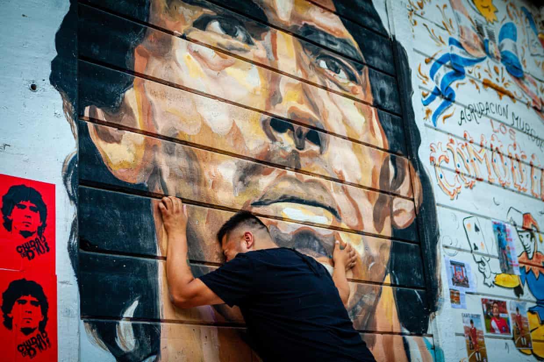 بوینس آیرس – بزرگداشت مارادونا