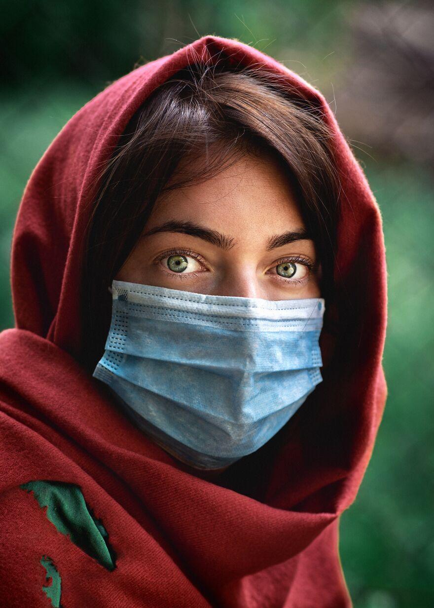 احتمالا اگر قرار بود آن عکس معروف مونالیزای افغان، سال ۲۰۲۰ دوباره گرفته شود