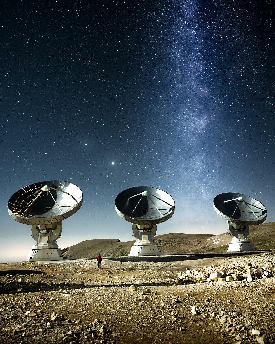 رصدخانه رادیویی NOEMA  فرانسه